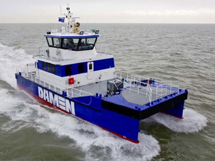 Robert E  Derecktor Inc  now a Damen licensee - Marine Log