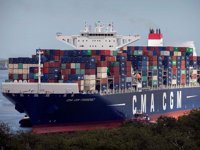 Largest ship yet calls at Port of Savannah - Marine Log