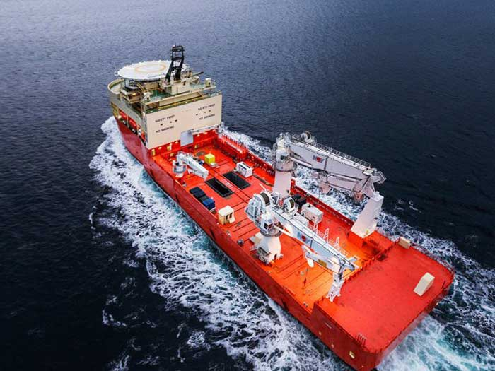VIDEO: Ulstein Verft delivers its largest OCV yet - Marine Log