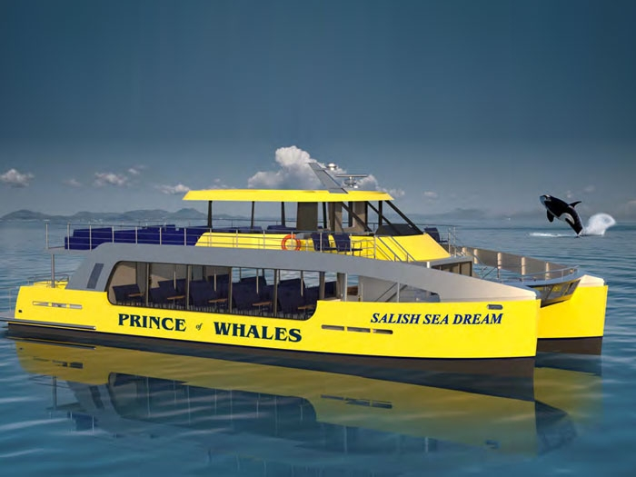 Whale watching cat to be Volvo Penta powered - Marine Log