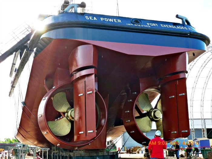 ATB tug launched at BAE Systems