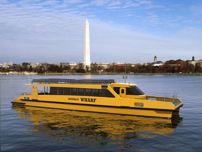 Scania engines to power four new DC water taxis - Marine Log