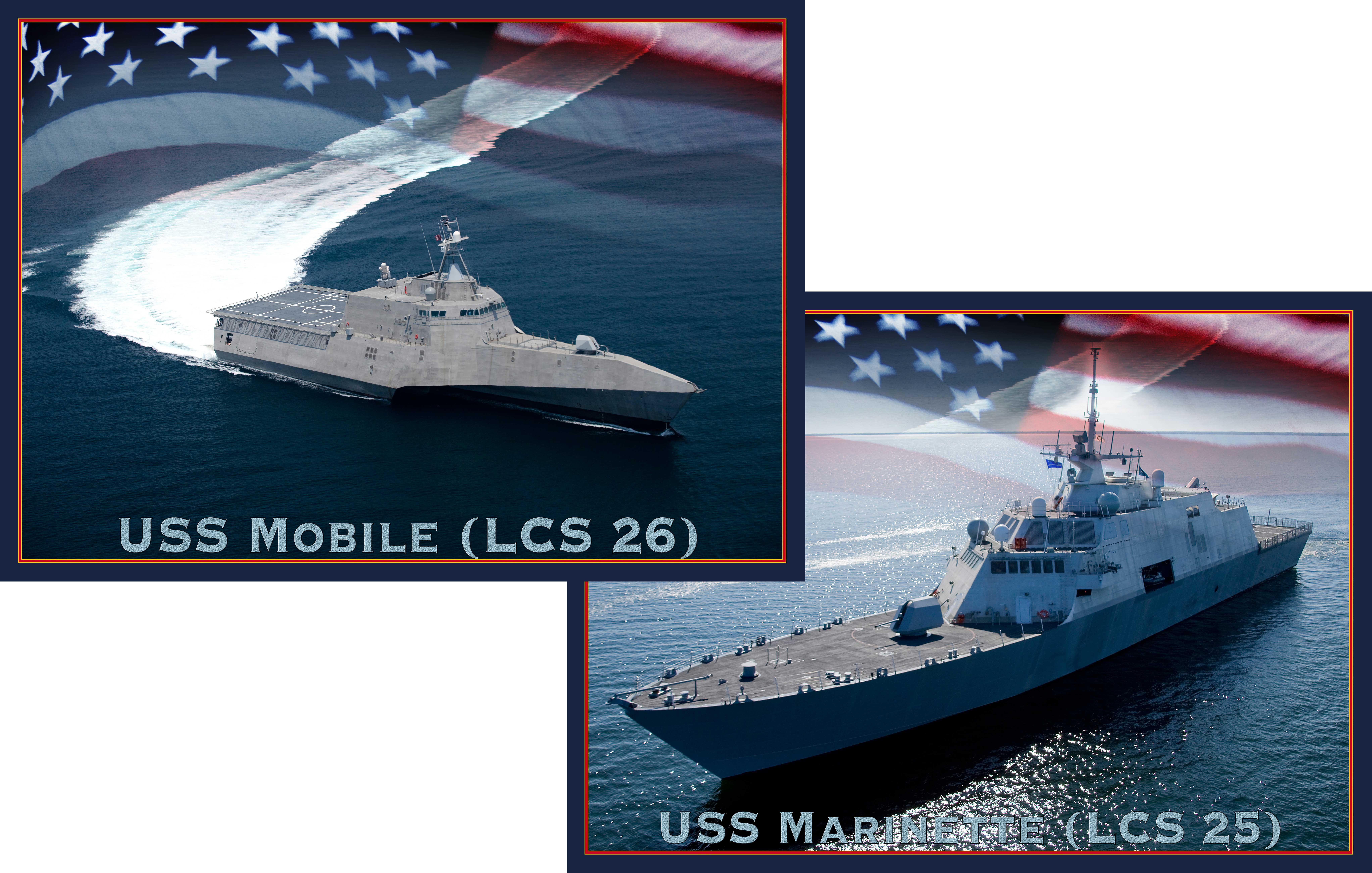 Next two LCS to be named to honor their shipyard cities