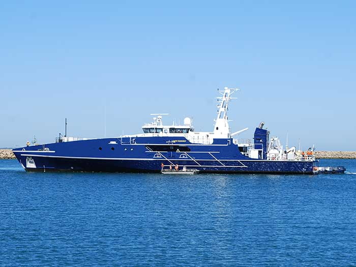 Austal delivers first Cape Class patrol boat - Marine Log