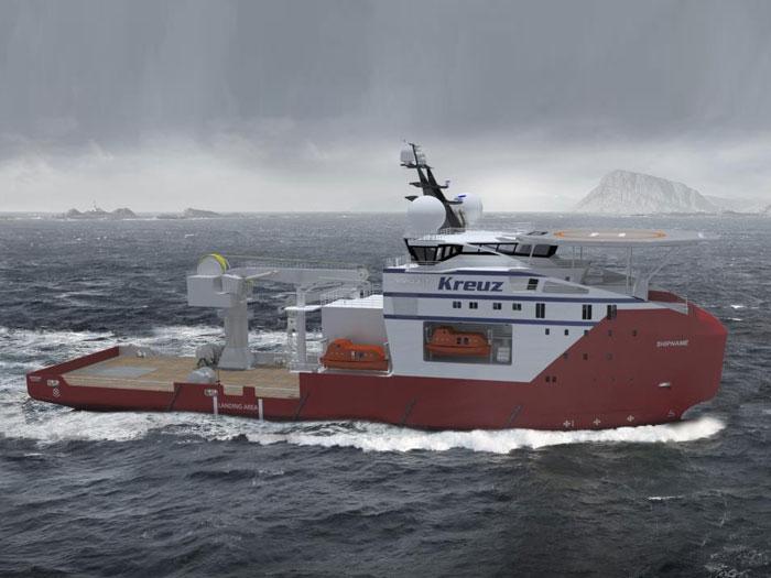 Kreuz orders DSCV from Vard for Brunei contract - Marine Log
