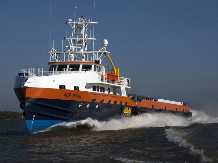 Powerful new fast supply/crew boat for SEACOR Marine