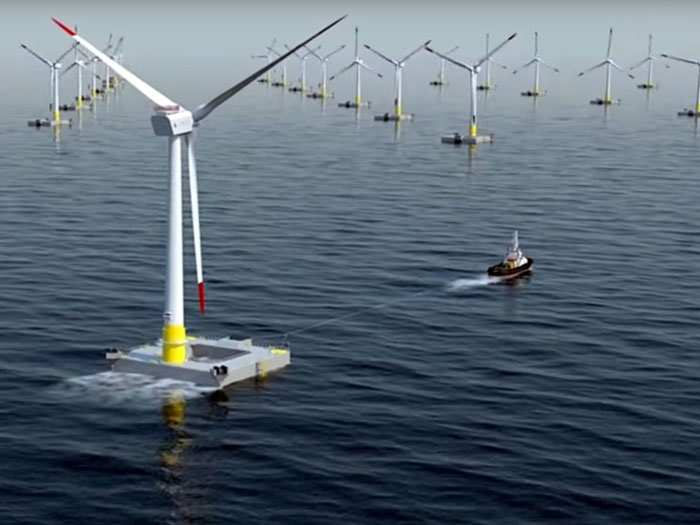 France's first wind farm to feature floating wind turbines - Marine Log