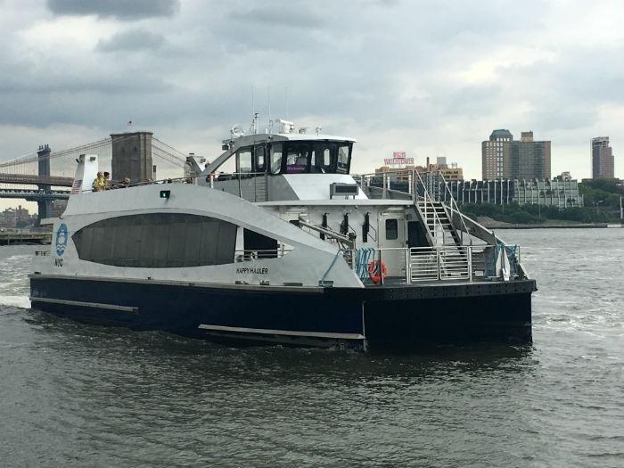 NYC Ferry marks 1 millionth passenger