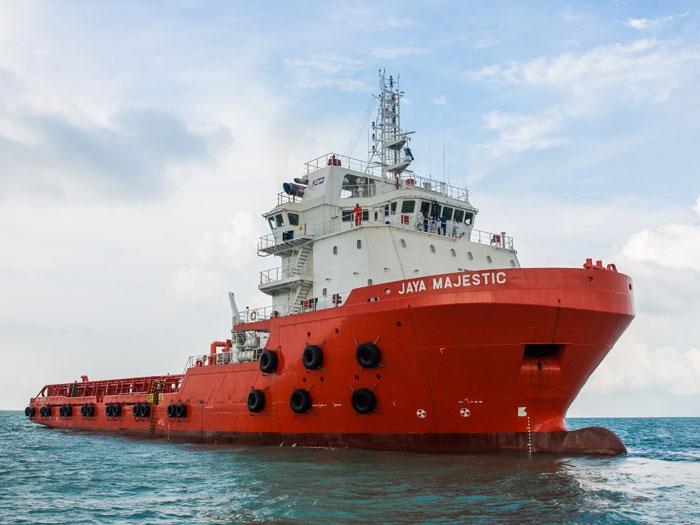 Mermaid Marine takes delivery of AHTS from Jaya yard