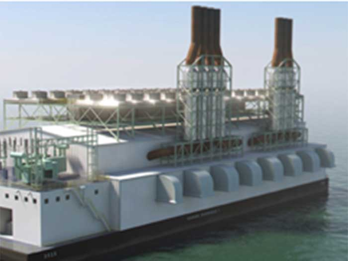 Modular power barge design gets ABS Approval in Principle