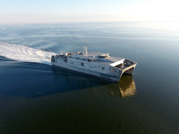Austal delivers Expeditionary Fast Transport to Navy