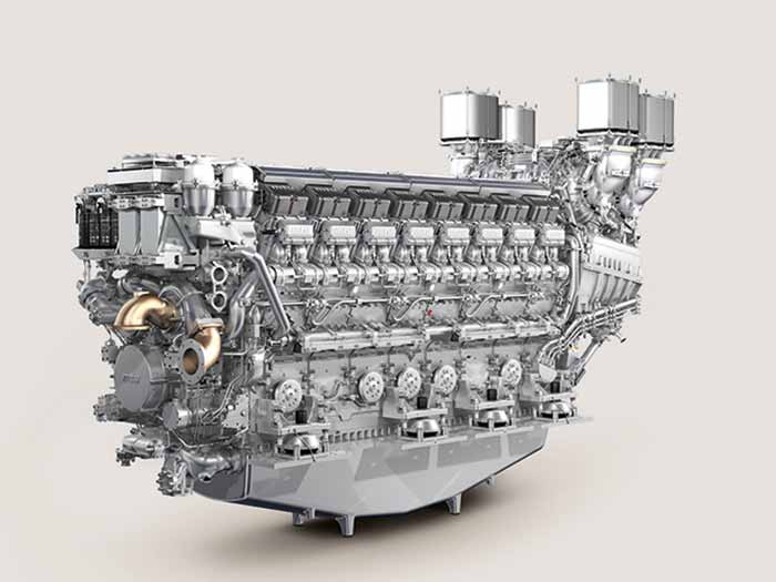 New 16-cylinder MTU Series 8000 engines to power French