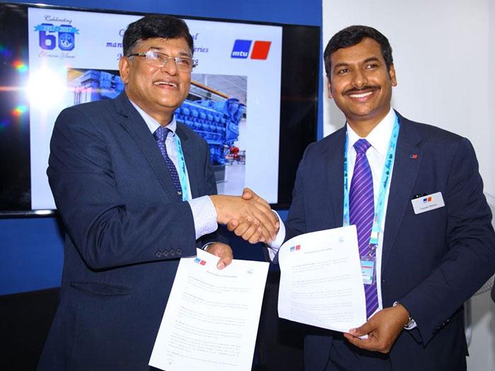India's Goa Shipyard to manufacture MTU Series 8000 engines