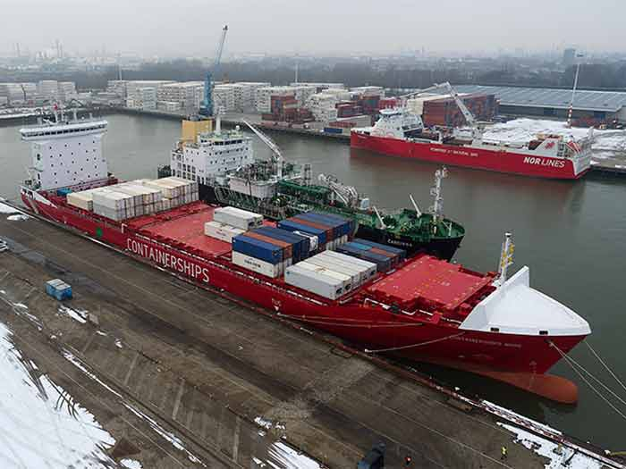 Shell bunkers first LNG fueled vessel in CMA CGM Group fleet
