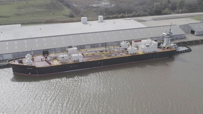 Image of barge