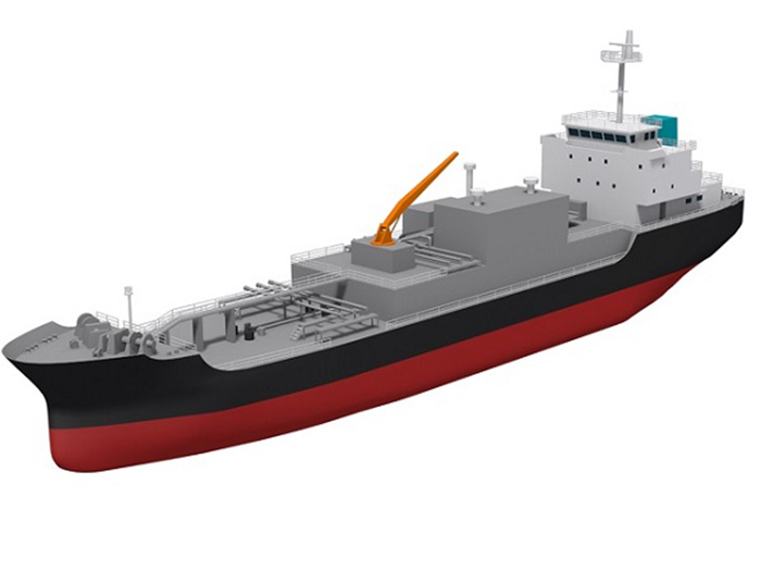 LNG bunkering vessel