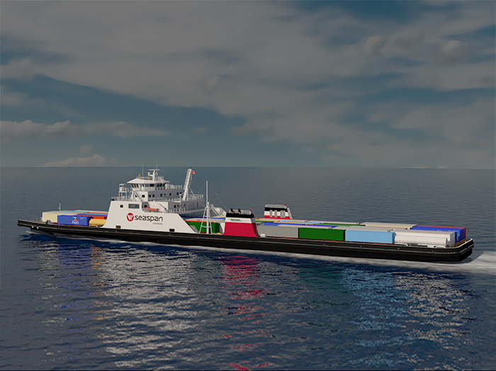 Artist's impression of ferry
