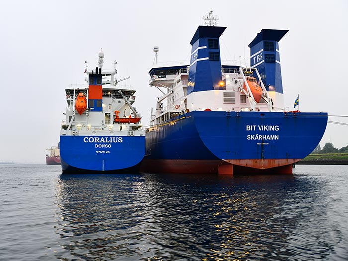 Coralius carries out its first ARA LNG bunkering - Marine Log