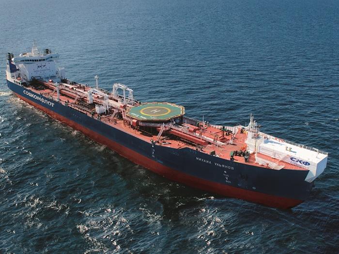 Image of Sovcomflot tanker