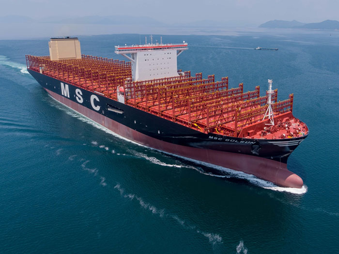 VIDEO: SHI delivers world's largest containership - Marine Log