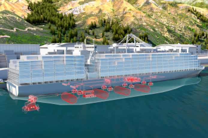 Fuel cells could play a key role in helping large ships meet decarbonization goals