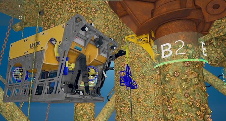 C-Innovation ROV finishes Mad Dog stem clamp installments