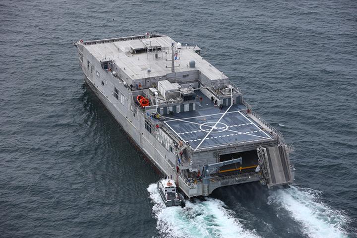 Austal U.S.A. supplies EPF 12