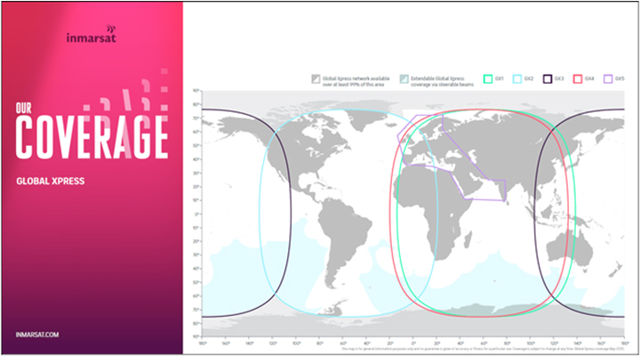 Inmarsat puts its most effective satellite yet right into solution