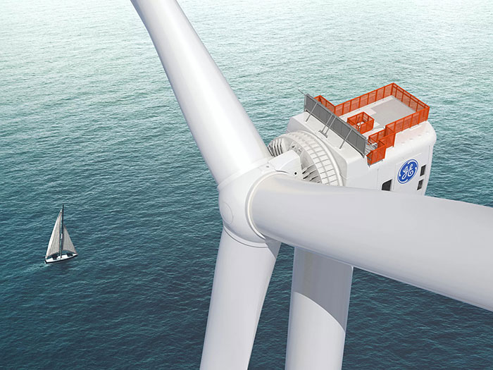 GE Haliade-X wind turine