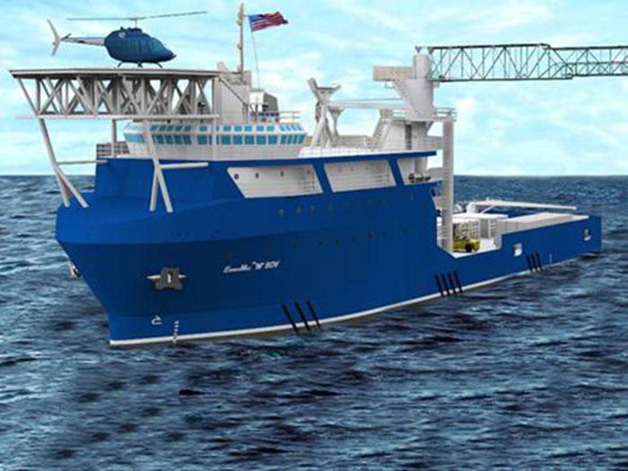 Enviromax SOV design vessel