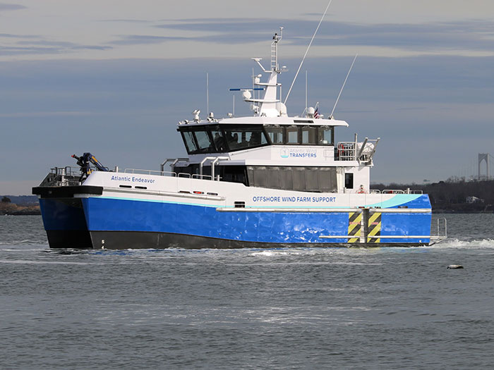 24 meter offshore wind Crew Transfer Vessel