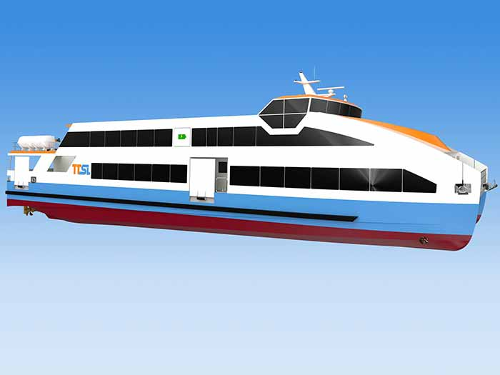 Rendering of ferry