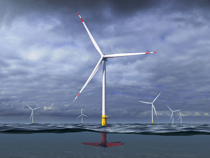 floating turbine
