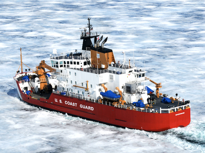 Great Lakes icebreaker