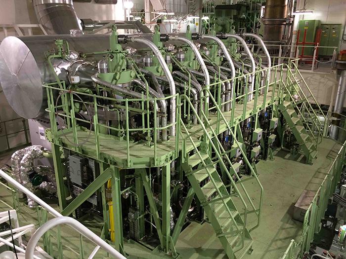 The MAN B&W ME-GI engine