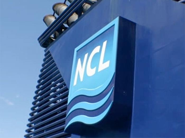 Norwegian Cruise Line stack insignia