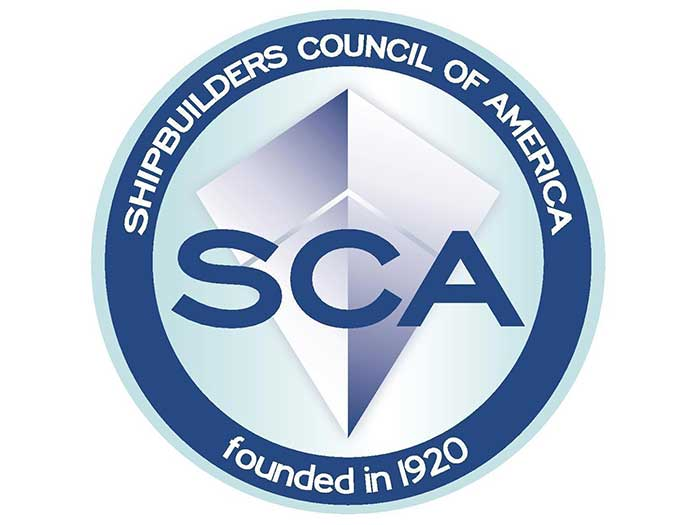 Shipbuilders Council of America logo