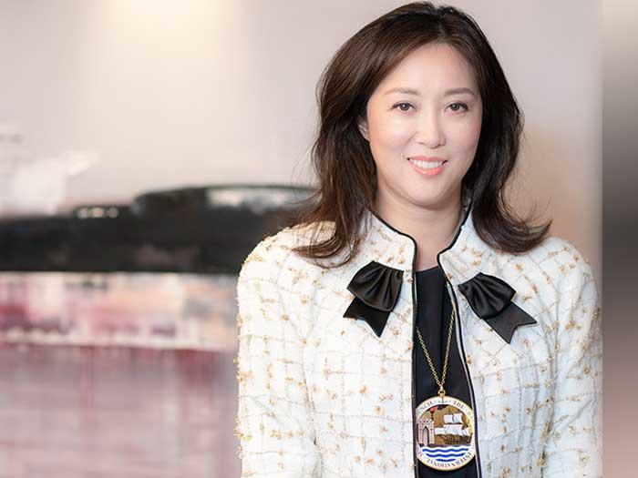 Sabina Chao of Hong Kong's Wah Kwong Maritime Transport Holdings is new president of BIMCO