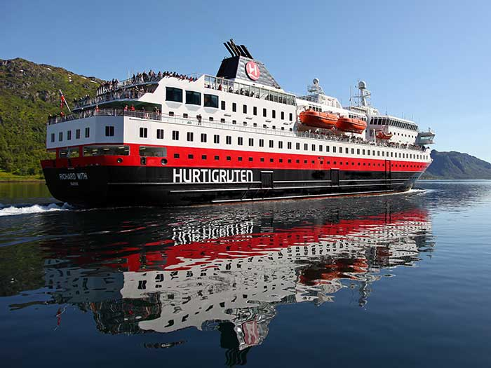 Norwegian Coastal Express vessel