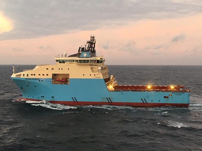 The AHTS vessel Maersk Minder will be fitted with the Wärtsilä HY system to reduce its fuel consumption and emissions.