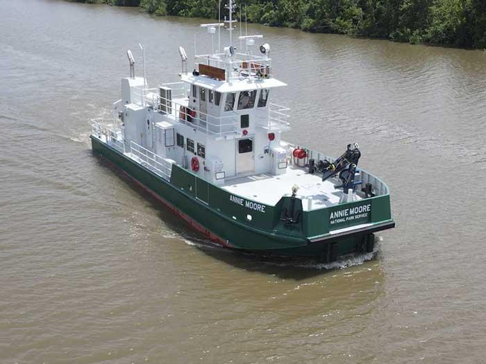 passenger/utility boat