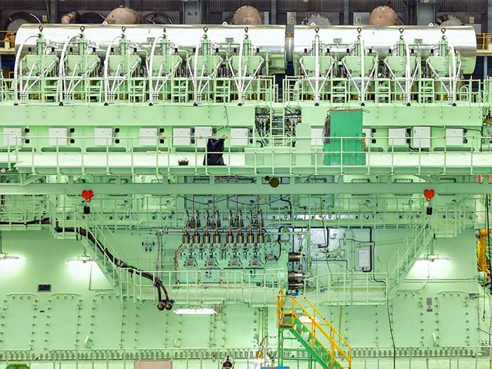 big green engine
