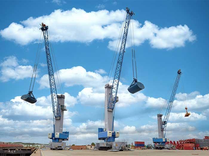 Konecranes Generation 6 mobile harbor cranes