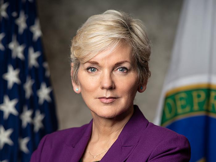 Jennifer Granholm, U.S. Secretary of Energy.