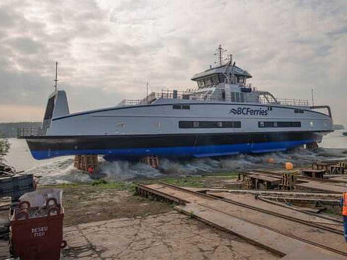 battery hybrid ferry