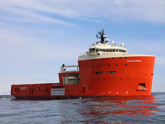 Atlantic Shrike will be first Canadian offshore vessek converted to plug-in hybrid