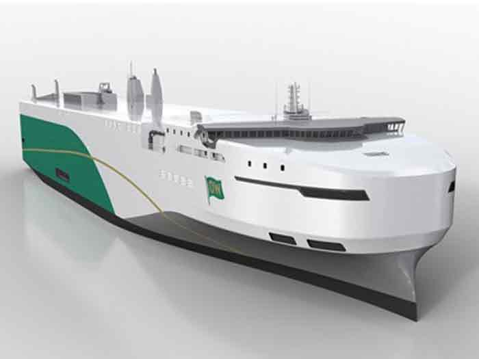 Car carrier vessel to to be built by CIMC Raffles