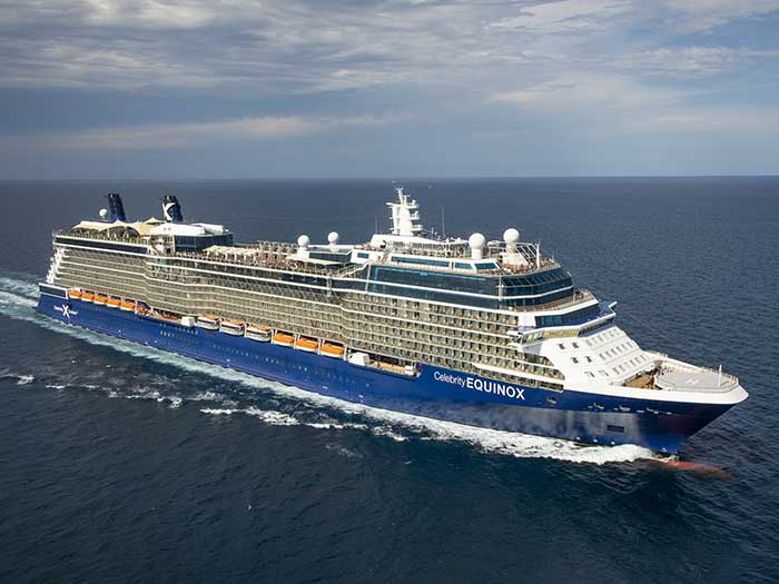 Celebrity cruise ship recently sailed from Florida