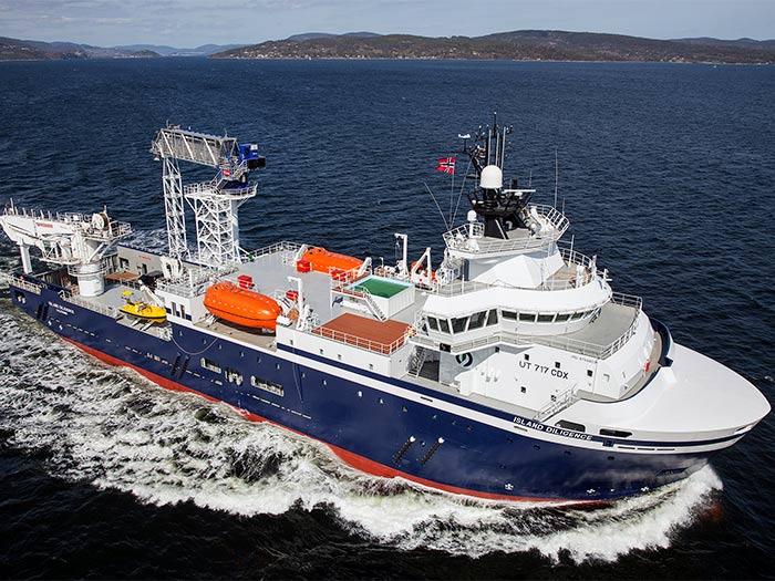 IslandDiligence will be used forSOV duties