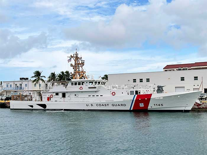 USCGC Emlen Tunnell in Key West, Florida.